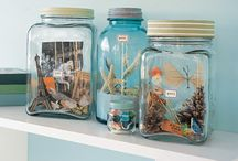 Mason Jars / Jars, gifts, uses & display ideas / by Kimberly Q