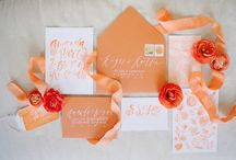 Watercolor // Floral Invitations