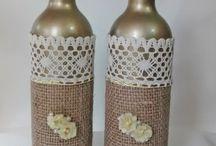 dekorativní láhve