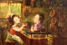 Paintings Kate Dudnik