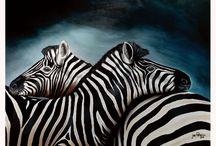 Jan Pretorius - Paintings / Acrylic paintings of Jan Pretorius