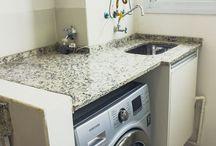 Bancada máquina de lavar