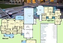 Luxury houses plans