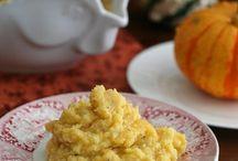 Squash and cauliflower casserole / Recipe