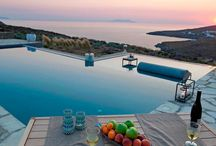 Villa Celeste / Tinos / Villa Celeste, a seafront property, situated on the West part of a private peninsula, οn Tinos island, Greece.