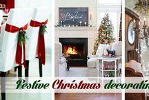 Festive Christmas decorating ideas
