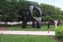 National Gallery Sculpture Garden / Art meets garden in the National Gallery Sculpture Garden on the National Mall in Washington, D.C.