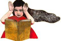 Arte y libros / Art & Books / Lectores, lectoras, dibujos, pinturas, fotografías... obras de arte relacionadas con los libros
