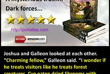 Portallas books / Series of YA fantasy novels by Christopher D. Morgan