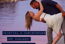 Just Engaged / Visit www.realweddingsmag.com for more wedding inspiration!