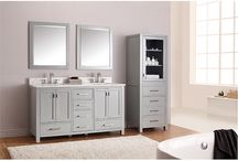 Bathroom Remodel / Fresh. New. Inspirational. Makeover your washroom to fit your style.