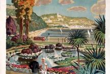 Vintage Torquay / Travel pictures depicting Torquay and Devon