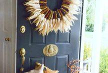 Kert - őszi falidísz