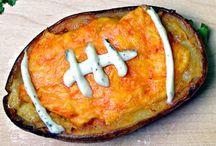 Super Bowl / Potato footballs / by Shamane Dunn Whiting
