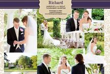 Wedding albums / Take inspiration from our album pages all photographed by local Kent photographers.