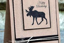 Stampin' Cards - Masculine