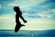 Mega Benefits of Omega 3 / Get Healthy with Omega-3 Foods.  It's so easy because: • Omega-3 fatty acids are good for almost every single part    of your body.  • It is so easy to eat enough delicious omega-3 foods. • There are tons of delicious and easy to make omega-3     recipes.