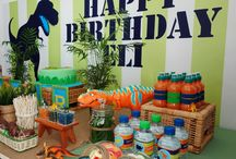 Dinosaur Party / Roar...Eli is FOUR! / by Southbound Hippie, LLC