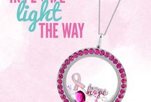October Breast Cancer Awareness Month / October Breast Cancer Awareness Month. Wear your support! / by Origami Owl