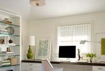 Home - workspace/office / Inspiration for home offices and workspaces.