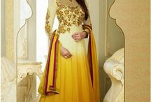 Latest Eid Collection 2014 / Shop now latest designer anarkali suit for eid at IndianSanskriti.com