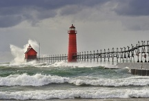 Grand Haven / Our Hometown.  Nothing is more beautiful then the shores of Lake Michigan.