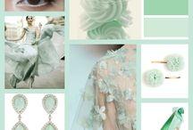 Colored wedding ideas