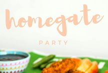 Party food recipes and ideas