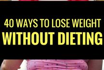 Easy steps to lose weight in a sensible way......don't grow old with any weight problems
