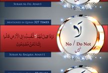 islamic words in Qur'an