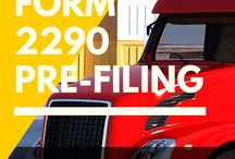Prefile 2290 Truck Tax / This is about PRE Filing Form 2290 well in advance to claim Schedule -1 proof immediately once it is made available by IRS.  Prefile starts by June and you can file 2290 earlier but pay your taxes only in July.