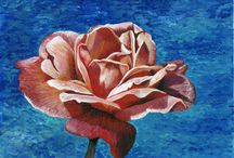 Paintings of Roses / A collection of Rose paintings. These are some of the most interesting flowers to paint. I am always so inspired by the creative variations on this beautiful flower.