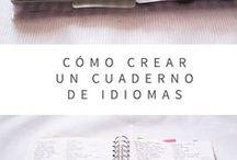 Mi cuaderno de idiomas