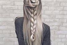 hajszínek, frizurák