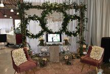 Bridal Show Setups