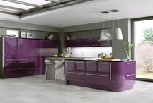 Stunning Modern Kitchens / A mix of gloss and matt kitchens available form Kitchens InStyle