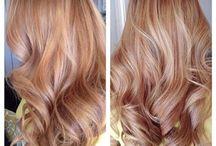 włosy color