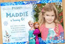 Hailey frozen party / by Karrie Hounshell
