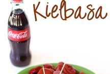 bbq coke kielbasa-polish sausage