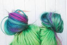 Kolorki na włosach *.*