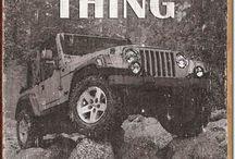 Jeep / Skilt