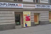 Vazba Diplomek / Tisk a vazba diplomových, bakalářských a ostatních prací.