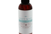 Body Wash / Our natural Cleansing Body Wash is great for bath and shower and contains nourishing emollients that provide a creamy lather, with skin nourishing properties that rinse clean and smooth.  It is tough on dirt and daily grime, yet mild enough for a face wash or on children. This luxurious body wash is sulfate- free, paraben-free, petro chemical-free and does not contain wetting agents, artificial colors, or other hazardous chemicals.