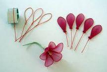 Flores de medias