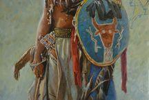 Indiánok. / Amerikai ős lakosok.