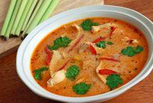 Thai chickensoup / Soep