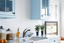 kitchens, pantries and dining areas