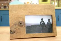 "photo frame ""lookback"" / photo frame by wood"