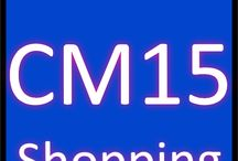CM15 Shopping / Sales CM15 Postcode district Brentwood