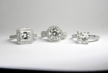 Custom-design engagement rings